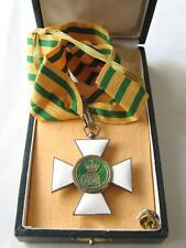 Luxembourg Order of Oak Crown 3rd class , Commander Cross , MARKED ! with case
