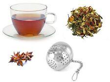 Tea Ball Strainer Infuser Silver Metal Bag Filter Strainer Squeezer Herbal Spice