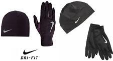 Nike Dri-FIT Women's Running Beanie & Gloves Set Black or  Purple