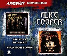 Alice Cooper ~  Brutal Planet + Dragontown NEW AND SEALED 2CD IN SLIPCASE