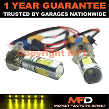 2X CANBUS XENON YELLOW H3 CREE LED FOG LIGHT BULBS FOR MERCEDES C E G M S CLASS