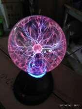 "7"" Plasma Ball Sphere Amazing Holiday Party Club Bar Lamp Light Voice Response"