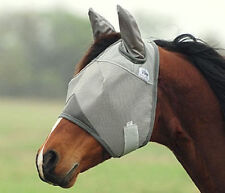 Cashel Crusader Fly Mask Standard With Ears MINI/FOAL SIZE