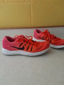 NIKE LUNARSTELOS ATHLETIC RUNNING SHOES WOMENS SIZE 9 100% AUTHENTIC