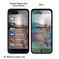 100% Genuine Premium Tempered Glass Film Screen Protector for Apple iPhone 6S