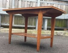 Vintage Coffee Table 1960's Danish Style Mid Century Top Retro Chic Low