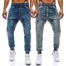Faded Herren-Jeans mit regular Länge und niedriger Bundhöhe