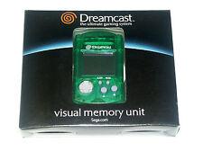 Tarjeta de memoria de VMU Visual Memory Card para Sega Dreamcast verde Green (dc0022)