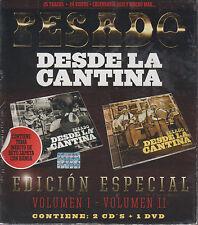 CD - Pesado Desde La Cantina NEW Vol. 1 & Vol 2/2  CD's & 1 DVD FAST SHIPPING !
