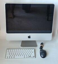 "2008 Apple iMac 20"" A1224 Core 2 Duo 2.40GHz 1GB RAM"