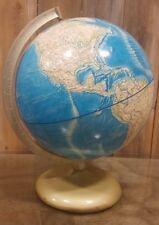 Vintage Rand McNally 12 in. International Globe A-110000-269 1978 Metal Base