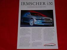 OPEL Vectra B Caravan 3.0 V6 Irmscher i30 Sondermodell Prospektblatt von 1998