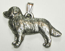Bernese Mountain Dog Pendant Dog Harris Fine Pewter Made in Usa jewelry