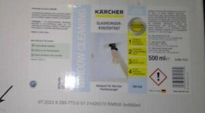8x 500ml Kärcher Glasreiniger-Konzentrat RM 500