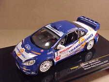 1/43 Ixo #RAM292 Diecast Peugeot 307, 1st '07 Rally Cevennes #2