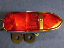 New Triumph TR4, TR4A, TR5, TR250 Lucas-Style Tail Light Lamp Cluster Assembly