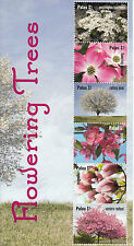 Palau 2012 MNH Flowering Trees Cherry Blossom Festival 6v M/S Flowers Stamps