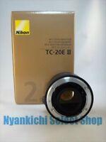 Nikon TELE-CONVERTER AF-S Teleconverter TC-20E III 2x from Japan NEW NIB