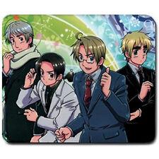 Axis Powers Hetalia Anime Gaming Mouse Pad Mat *gift*