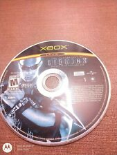 Microsoft Og Xbox Disc Only Tested The Chronicles of Riddick Butcher Bay