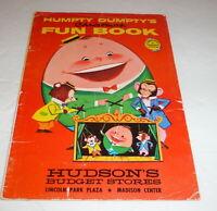 Christmas1940s 1950s Hudson's Promotion Parents Magazine  Vintage  Kids Fun Book