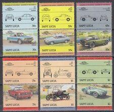 St. Lucia 1984 ** ex Mi.696/11 Automobile Autos Cars Chrysler Imperial [sq6261]