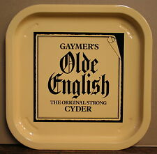 GAYMER'S OLDE ENGLISH CYDER CIDER Vintage Advertising Pub Bar Beer drinks tray
