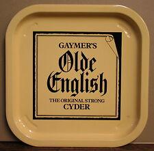 GAYMER'S OLDE ENGLISH CYDER CIDER Vintage Advertising Pub Bar Beer drinks tray