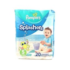 New Pampers 20ct Splashers Disposable Swim Pants Small 13-24 lb