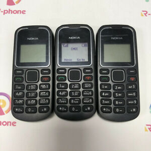 Unlocked Original NOKIA 1280 BLACK Cellular Phone 2G GSM Multilingual keyboard