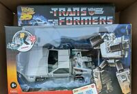 Transformers Gigawatt Back to the Future BTTF DeLorean Limited #/1985 Ships Now