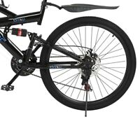 26inch Mountain Bike 21 Speed MTB Bicycle Full Suspension Disc Brakes Adult Bike