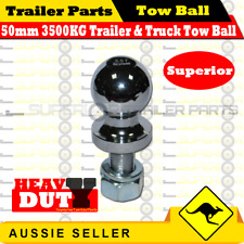 Superior 50mm 3500kg Rated Trailer and Truck Solid Tow Ball - Coupling