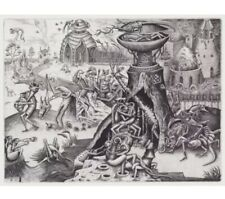 Phlegm Luxuria Signed Art Print Poster - Copper Plate Engraving - IN HAND!