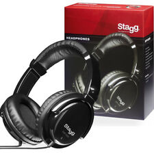 Stagg SHP-5000H Professional DJ or Studio Monitor Over Ear Stereo Headphones