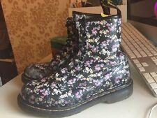 Doc Martens Womens Size 8 (6 UK) 39 EU Floral Boots 11821