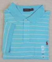 Polo Ralph Lauren Striped Short Sleeves Pony Classic Soft Touch Shirt 3XB 4XB