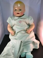 Antique E I Horsman (EIH Co.) 1930's Restored Composition Baby Doll