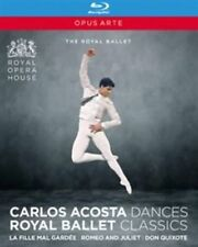 Carlos Acosta Collection The Royal Ballet - Blu-ray Region B Shi