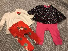 Baby Gap Gymboree Size 6-12 Months Lot Of Two Outfits! Winter!