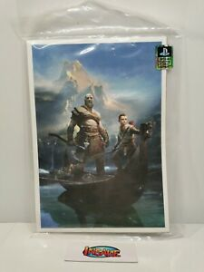 God of War Print Poster Loot Gaming Crate Playstation Official Licensed Sealed
