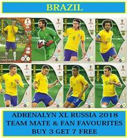 PANINI Adrenalyn XL FIFA World Cup 2018 Russia - Choose your BRAZIL cards