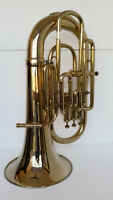 BEAUTIFUL QUALITY SOUNDS NEW BRASS FINISH Bb/F EUPHONIUM+FREE HARD CASE+M/P
