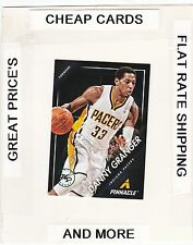 2013-14 PINNACLE Artist's Proof Green DANNY GRANGER  (Pacers) #/25