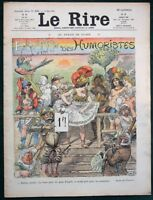 Le Rire - 1908 French Comic Magazine - Le Salon des Humoristes