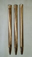 Vintage Gold Plated Propelling Make-up Pens (RARE)