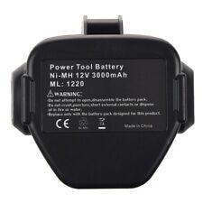 1X(NEW 12 VOLT Ni-MH Battery For MAKITA 3.0 Ah 1233 1234 Black&Gray A5T7)
