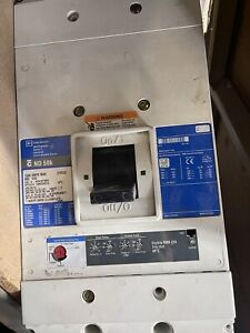 Cutler Hammer ND312T36W 3P 1200A 600V Breaker w/1000a Rating Plug +Aux
