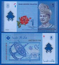 Malaysia P-New One Ringgit Year 2012 ND Uncirculated Banknote Asia