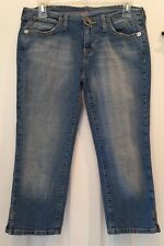 HINT Womens Cropped Capri Stretch Jeans Size 5